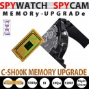 MEMORY UPGRADE F�R SPYWATCH C-SH00K auf 32GB...